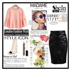 """""""SheIn 3"""" by elma-polyvore ❤ liked on Polyvore featuring Versace, Martha Stewart, Fresh, NYX and Too Faced Cosmetics"""