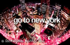 I cannot believe that in less than 3 months my dream of going to NYC will finally come true!