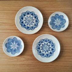 plates, plates, plates... new ceramic plates for wall or table decor  handmade, handpainted with cobald oxide, glazed and #ceramicart #walldecoration #decorating #clay #pottery #tableware #ceramicdesign #decor #gift #blueandwhite #mandalas #walldecor #homestyling #creative_instaarts #ceramicplates #instalation #interioriordecoration #tableware #inspiration #decorideas #céramique #keramik #dekorativeteller #handmade #keramikk #керамика #тарелочки #декор #ceralonata