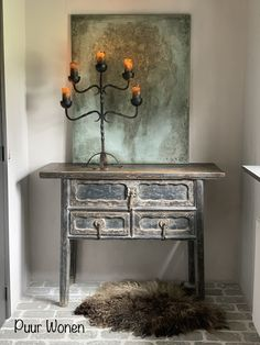 Creature Comforts, Console Table, Beautiful Words, Interior Architecture, Entryway Tables, Walls, Creatures, Furniture, Design