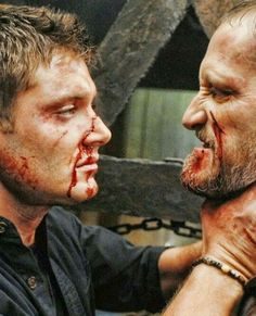 Dean and Alastair, 4x18 On The Head of a Pin