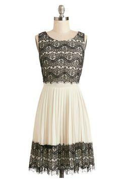 Fashion Babes: Romantic Dress   #blackwhite #dress #romance #romantic