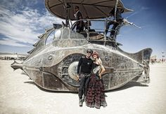 The Nautilus - Burning Man 2012 by *christopher*, via Flickr