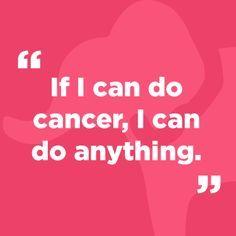 Cancer Quotes on Pinterest | Breast Cancer Survivor, Breast Cancer ...