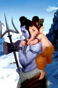 Shiv and ganesh