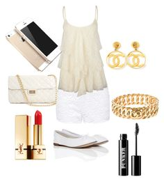 """""""Untitled #3"""" by nevaehmueller ❤ liked on Polyvore featuring Forever New, Full Tilt, Repetto, Forever 21, FingerPrint Jewellry, Chanel, Yves Saint Laurent and Ardency Inn"""