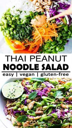 Salad Recipes For Dinner, Dinner Salads, Easy Salads, Healthy Salad Recipes, Whole Food Recipes, Vegetarian Recipes, Cooking Recipes, Healthy Salads For Dinner, Great Salad Recipes