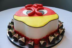 It's a cocky cake! LOVE<3