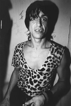 Iggy Pop photograph black and white photo print vintage by Milras Jazz Music, Music Icon, Pop Music, No Wave, Iggy Pop, Nina Simone, Janis Joplin, One And Only, Iggy And The Stooges