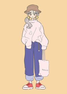 Arte Do Kawaii, Kawaii Art, Cute Art Styles, Cartoon Art Styles, Cartoon Kunst, Korean Art, Art Reference Poses, Cute Characters, Cute Illustration