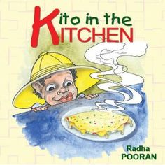 The author, Radha, is a nutritionist who had the great idea of using her knowledge to write a children's book.