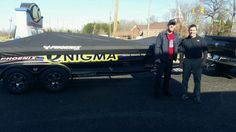 Aaron Martens makes a stop before heading to Greenville at fellow Elite Angler Britt Myers shop, CS Motorsports - Feb 2015