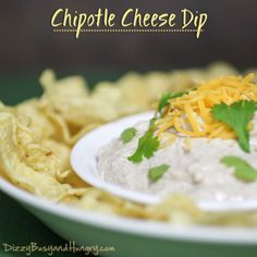 Chipotle Cheese Dip for #AppetizerWeek and an #OXO Giveaway!