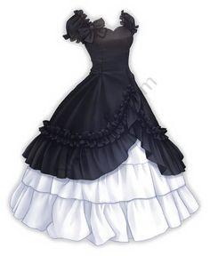 Love Nikki Inkiness Palace – Nikki's Info - Yersq Sites Dress Design Drawing, Dress Design Sketches, Dress Drawing, Fashion Design Drawings, Fashion Sketches, Manga Clothes, Drawing Anime Clothes, Vestidos Anime, Pretty Dresses