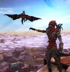 Bloodwing and Mordecai Borderlands Art, Handsome Jack, Fantasy Character Design, Fantasy Characters, Fun Games, Master Chief, Videogames, Fiction, Xbox 360