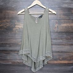 soft boho tank top (more colors) #tops