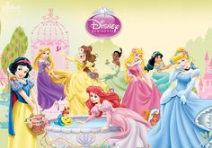 Disney Princesses - Garden of Beauty by SilentMermaid21 on DeviantArt