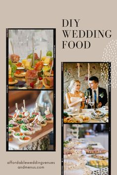 If you've got a small wedding budget, you can save a ton of money if you diy. Find out how to plan a diy wedding food buffet, find diy wedding food ideas, diy wedding appetizers, and diy wedding food stations. Save even more with a diy wedding bar. Find out how to plan diy wedding drinks, set up a diy wedding drinks table, and more diy wedding bar ideas. End your reception with an easy diy wedding cake. Wedding Drink Table, Diy Wedding Bar, Fall Wedding Table Decor, Wedding Reception On A Budget, Wedding Buffet Food, Food Buffet, Fall Wedding Cakes, Wedding Catering, Cheap Wedding Food