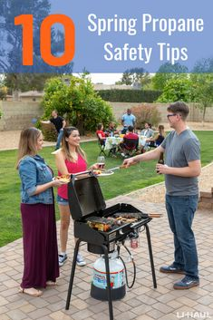 The weather is warming up, which means more propane related outdoor activities. Check out these spring propane safety tips to keep you safe this season! Time Activities, Outdoor Activities, Grill Brush, Grilling Tips, Spring Is Here, Safety Tips, Outdoor Entertaining, Things To Come, Weather