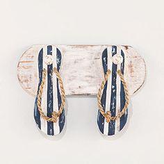 Flip-Flops Double Wall Hook   Decorative Accessories  Home Decor   World Market