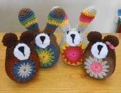 Cute Crochet Toys! Cute Crochet, Beautiful Crochet, Crochet Toys, Crochet Baby, Sheep, Crocheted Toys, Crochet For Baby, Crochet Baby Dresses