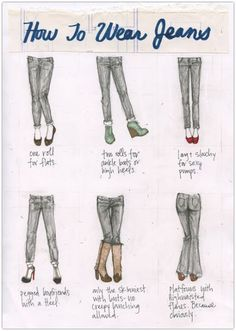 Art Symphony: Blue Jeans