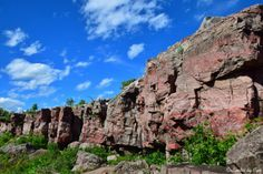 Pipestone National Monument, Minnesota...photo by Cyn...June 15' 2014
