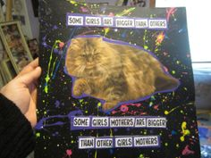 some girls art bigger than others CAT ART by TheEscapistArtist, $7.50