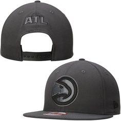 Atlanta Hawks New Era GCP 9FIFTY Snapback Adjustable Hat - Graphite - $29.99