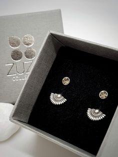 Moda Estilo Corea Flor de nieve de plata pendientes encantadoras Zarcillos De Marca