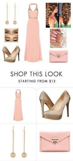 """""""Pink princess"""" by paoladouka on Polyvore featuring Notte by Marchesa, Chinese Laundry and 14th & Union"""