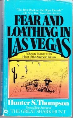 Fear and Loathing in Las Vegas by Hunter S. Thompson read it in the original Rolling Stone series... good movie too with Jonnie Depp.