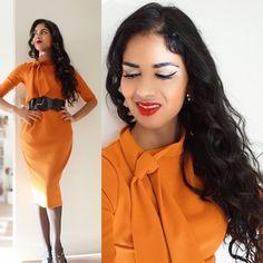 Wiggle dress! Check more vintage & retro styles at instagram: @orientalspiceandsomechocolate