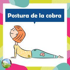 Fichas con posturas de YOGA para niños en PDF para descargar Yoga 1, Mindfulness For Kids, Sensory Integration, Yoga For Kids, Learning Spanish, Asana, Parenting Advice, Yoga Fitness, Yoga Poses