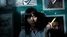 """Girl From Nowhere """"Trap"""" ★★★★★★★☆☆☆ Netflix, Love Sick, Cute Anime Wallpaper, Poster Series, Thai Drama, Two Girls, Actor Model, Aesthetic Girl, Best Actress"""
