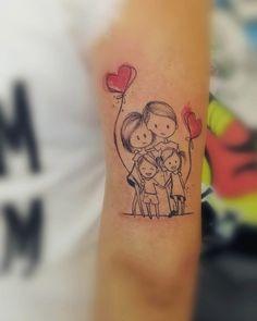 arm tattoo family I would add my angel baby too Mama Tattoos, Mother Tattoos, Body Art Tattoos, Sleeve Tattoos, Tatoos, Tattoos Meaning Family, Family Tattoos, Couple Tattoos, Tattoos For Kids