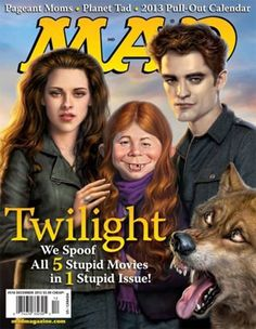 mad magazine twilight cover