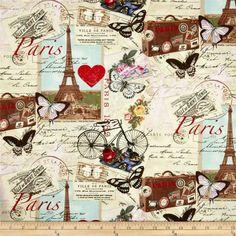 Tela sobre  Paris