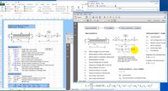 The engineers require to perform several calculations on daily basis specifically with modern standards like EUROCODES. Microsoft excel with its powerful programming features can make this engineering calculation process simple.
