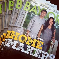 Look who's on the cover of the new Baylor Magazine!! #SicEm, Chip & Joanna!!! #FixerUpper #BaylorAlumni #JoannaGaines #HGTV