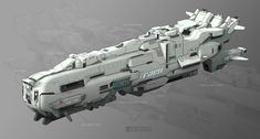 ArtStation - Ship design, Lin Lin