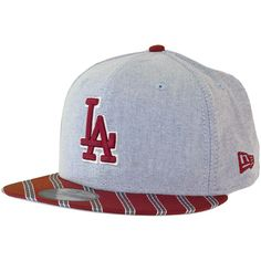 New Era Cap Oxford Prep LA Dodgers blue/cardinal ★★★★★