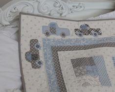 Building Blocks Boy's Version-Bunny Hills strip quilt pattern