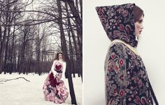 Couture Wonderland Editorials - The Vogue Japan December 2013 Photoshoot Features Lindsey Wixson (GALLERY)