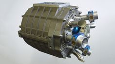 The Duke Axial Engine is lighter, more compact and already slightly more powerful than a typical ...