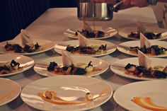 L'Atelier supperclub - chicken ballotine with wild mushrooms, baby turnips, crispy kale and truffle velouté