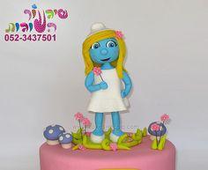 smurfette cake by cakes-mania עוגת דרדסית מאת שיגעון העוגות - www.cakes-mania.com