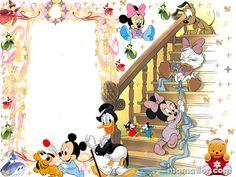 Marco de Fotos de Bebés Disney Donald Y Daisy, Mickey Y Minnie, Cartoon Kids, Toddler Bed, Snoopy, Photoshop, Foto Disney, Fictional Characters, Decor