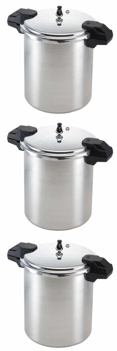 Small Kitchen Appliances: Pressure Cooker Aluminum 22 Quart Large Canning Pot Cooking Kitchen Supplies New -> BUY IT NOW ONLY: $79.82 on eBay!