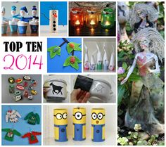 Top 10 Crafts and Tips for 2014 on Crafts by Amanda